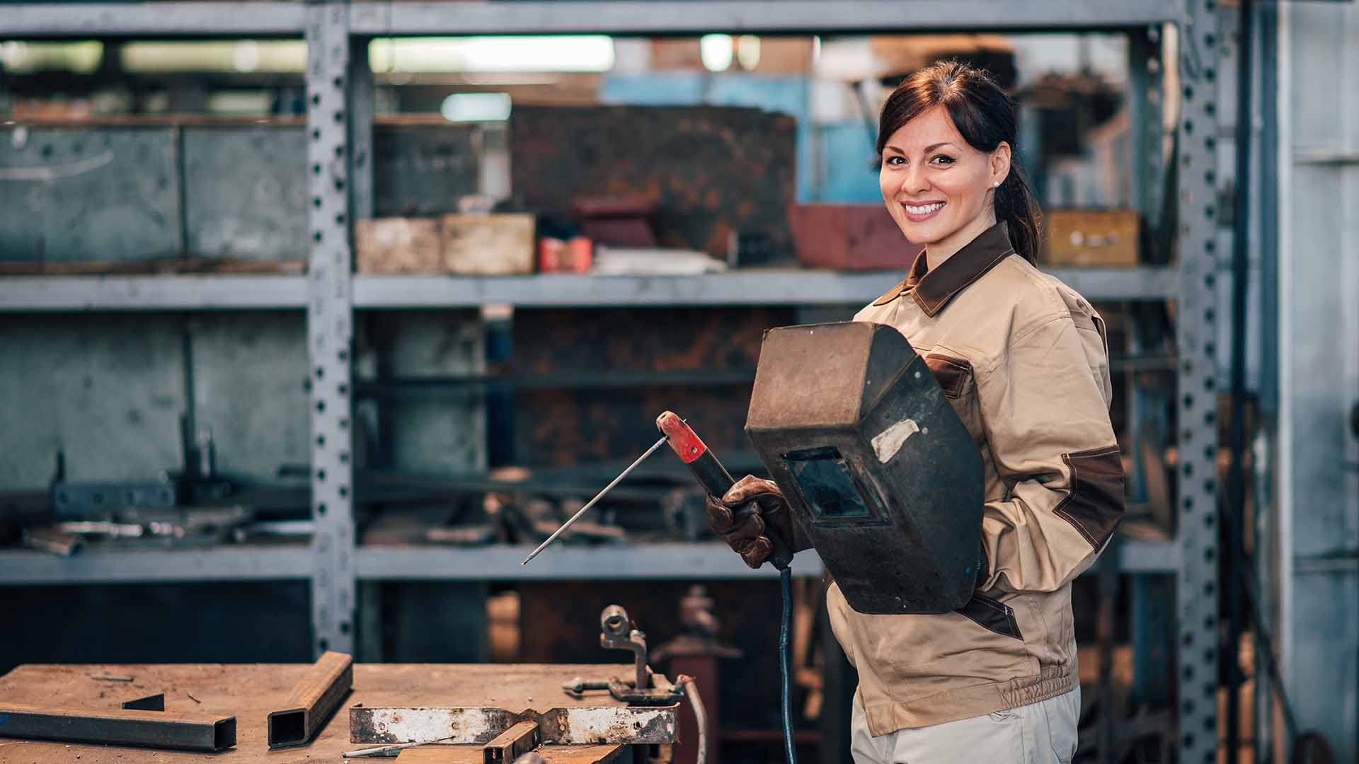 More Women Becoming Welders for the Great Pay & Solid Benefits