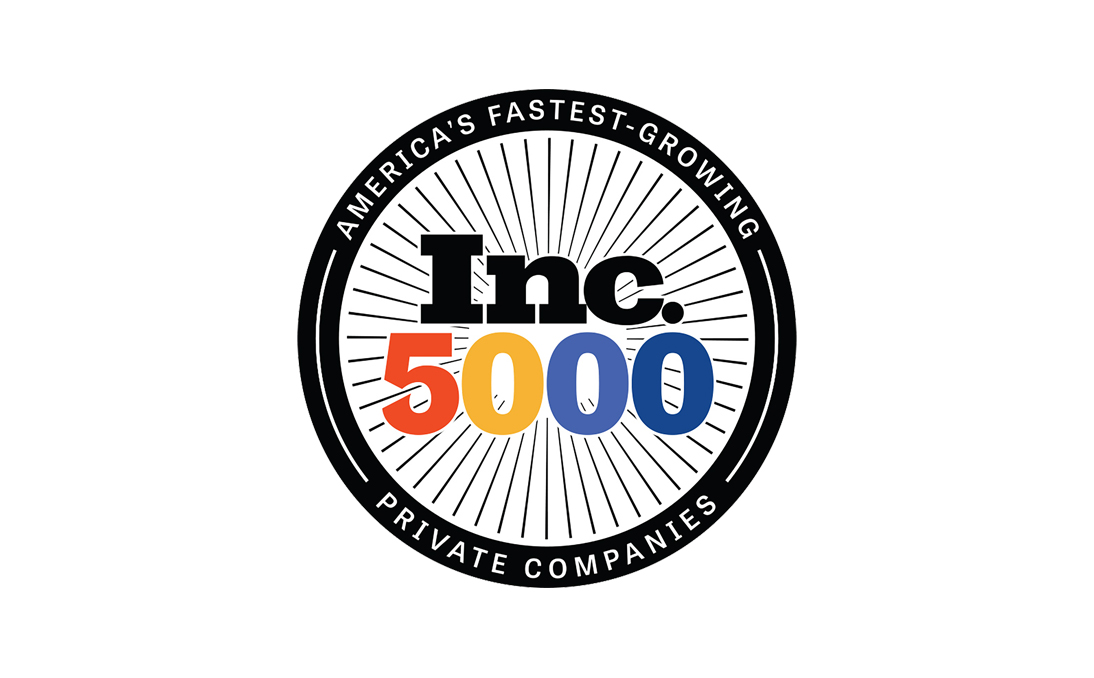 Inc. 5000 Fastest Growing Private Companies award