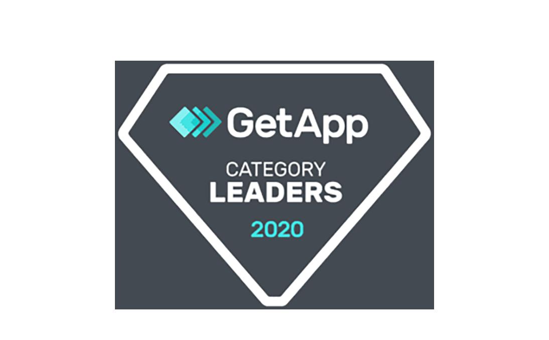 GetApp Category Leaders 2020 award