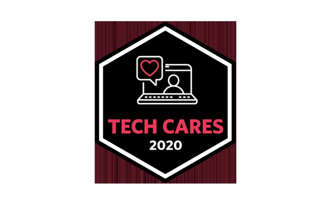 Tech Cares 2020 award