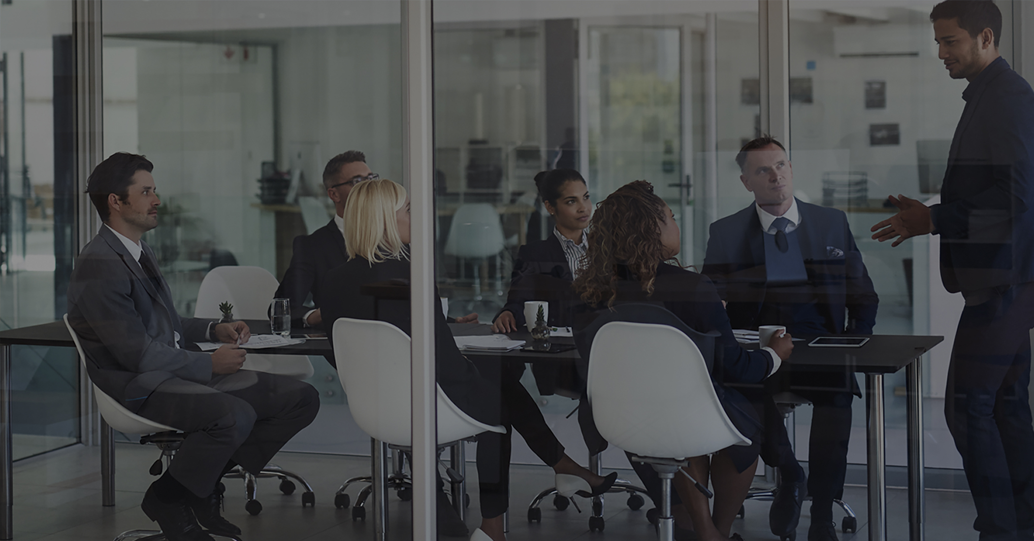 Picture of Perficient employees in a conference room