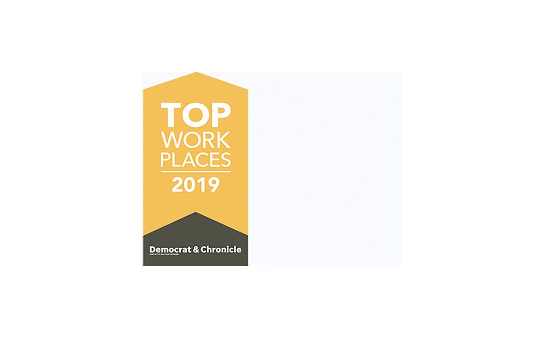 Top Places to Work 2019 Award Logo