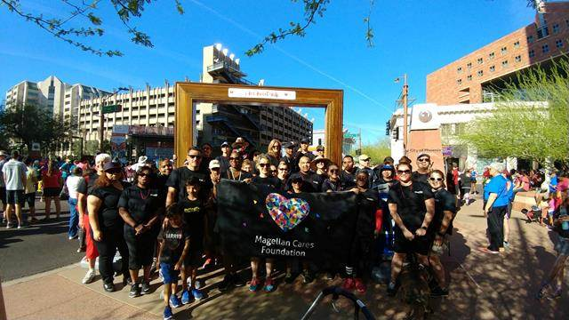 The Magellan Cares Foundation volunteering