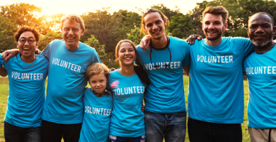 volunteers image