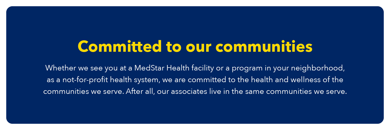 Committed To Our Communities