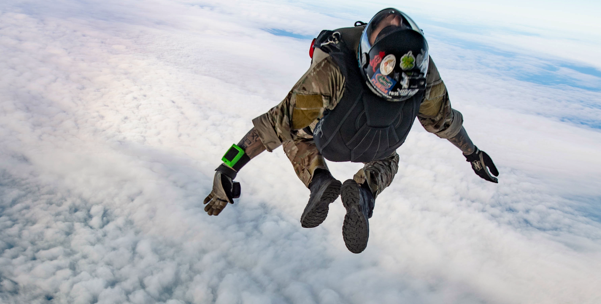 Navy Expeditionary Combat Force Europe-Africa/Task Force (CTF) 68, conduct unstable exit free fall jumps