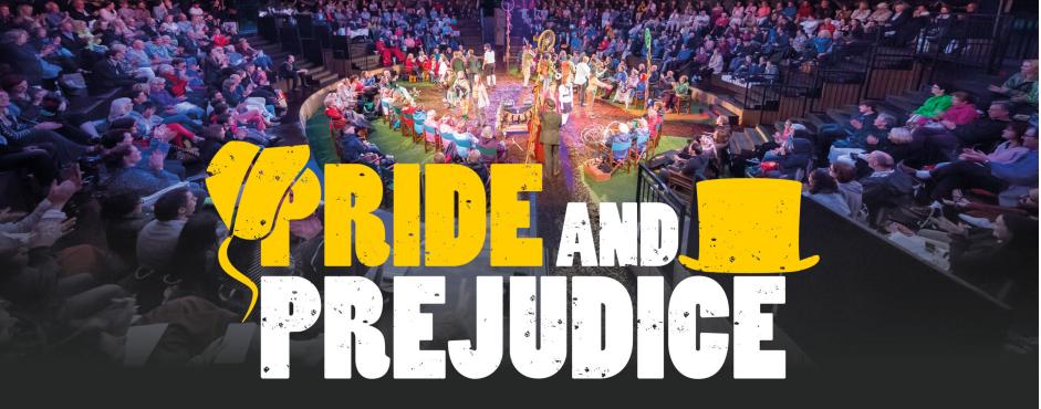 Invitation to open air theatre production of Pride & Prejudice