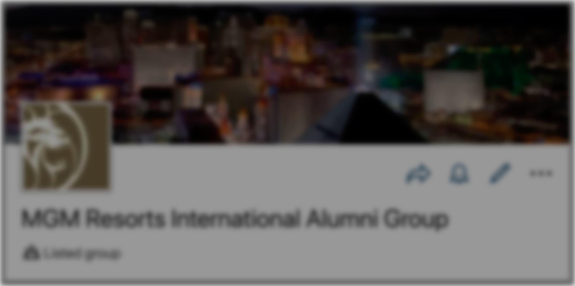 Join the MGM Alumni LinkedIn Group