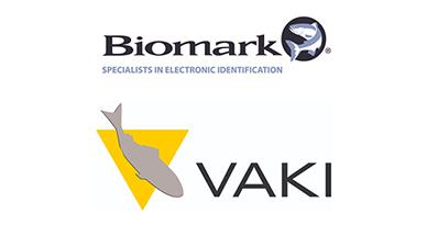 Biomark and Vaki logos