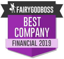 Best Companies for Women Fairygodboss 2019 badge