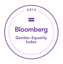 Bloomberg Gender-Equality Index 2019 badge