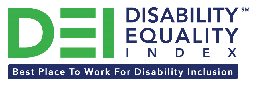 Best Places to Work Disability Equality Index 2019 badge