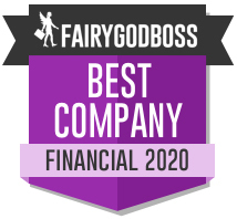 Best Companies for Women Fairygodboss 2020 badge
