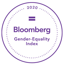 Bloomberg Gender-Equality Index 2020 badge