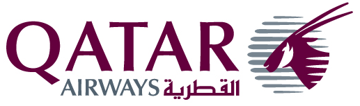 Qatar airways header logo