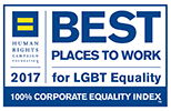 2017 Best Places to Work for LGBT Equality