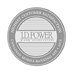 Highest customer satisfaction J.D. Power and associates canadian mobile banking app 2018