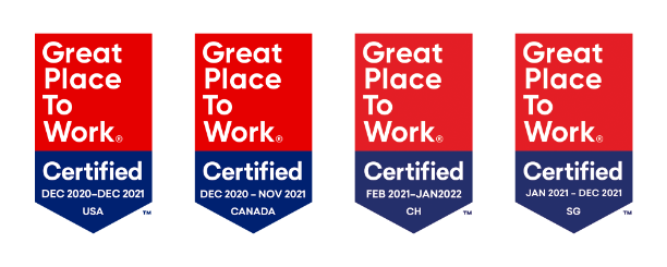 Great Places to Work Badges