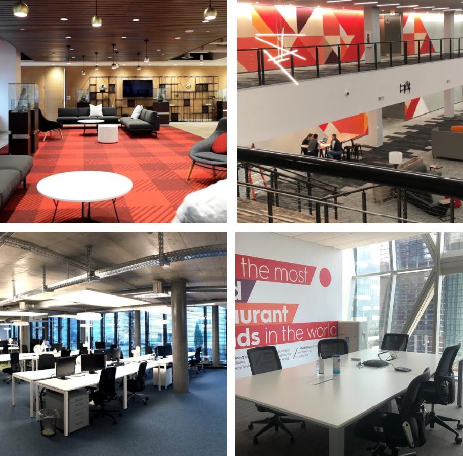 RBI office locations - Toronto, Miami, Switzerland, Singapore