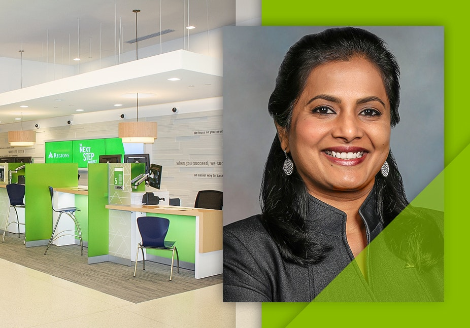 Forbes Recognizes Regions Chief Operations and Technology Officer Amala Duggirala Among Top Tech Leaders in North America