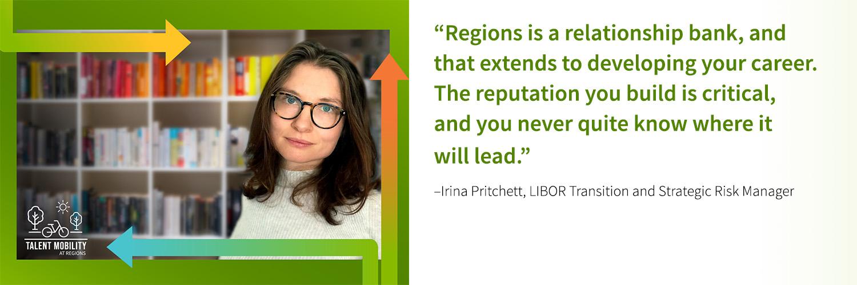 Learn How Irina Built Her Career