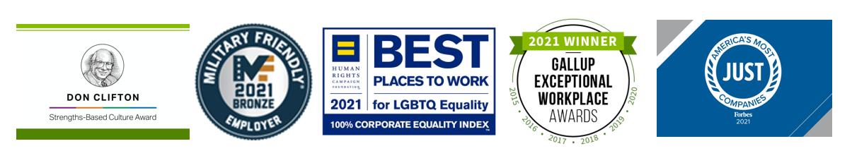 Regions is an award-winning employer