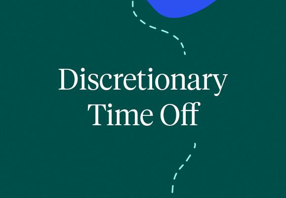 Discretionary Time Off