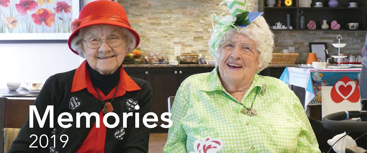 image of 2 happy female seniors