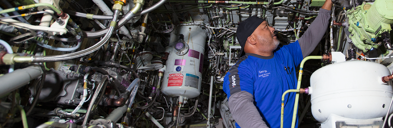 Southwest Aircraft Maintenance and Engineering employee