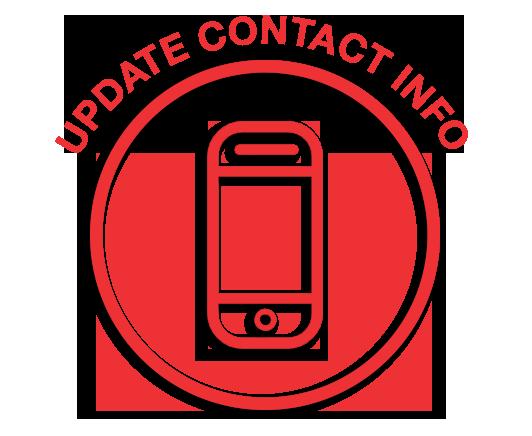 Aktualizujte kontaktní informace