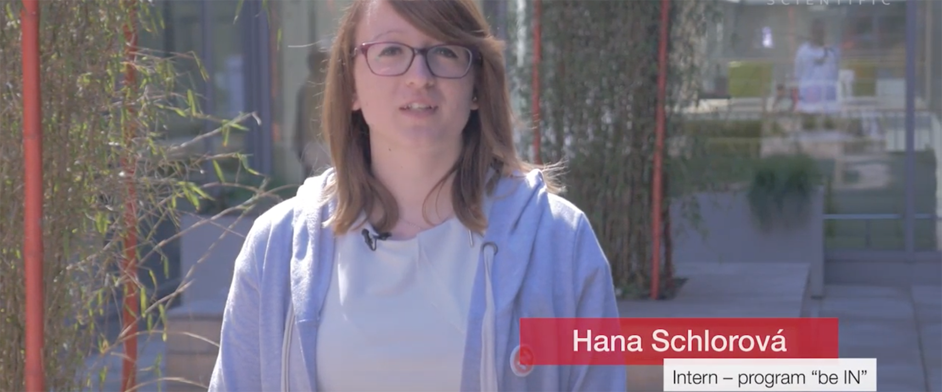 Hana Schlorova Intern - program be IN