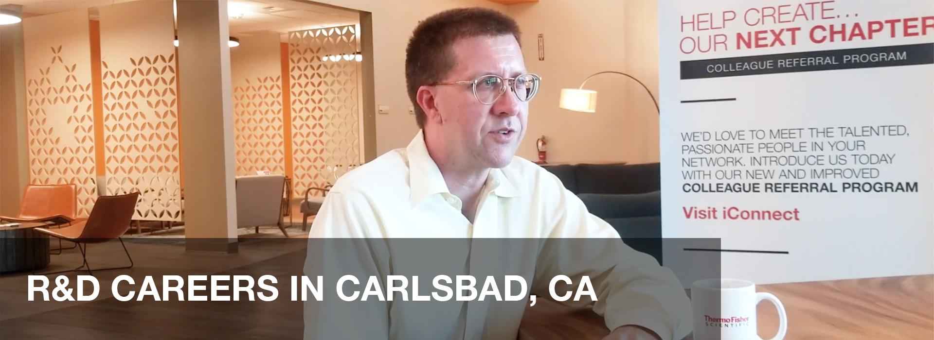 CARRIÈRES EN R&D À CARLSBAD, EN CALIFORNIE