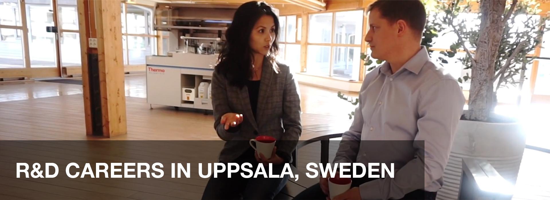 スウェーデン、ウプサラの研究開発部門の求人