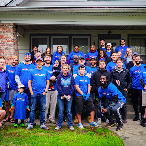 TQL Employees Volunteering with Dreams With Wings