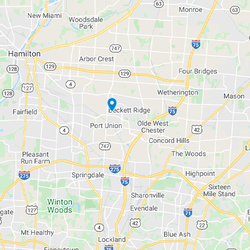 Map of West Chester, OH