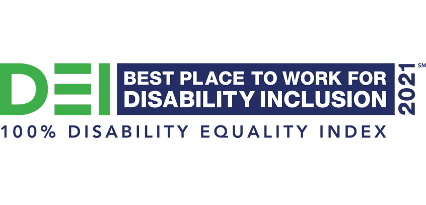 100% disability equality index
