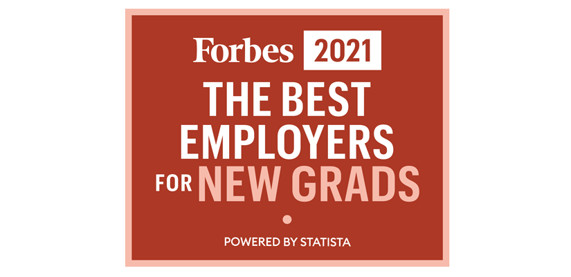 Forbes Best Employers for New Grads