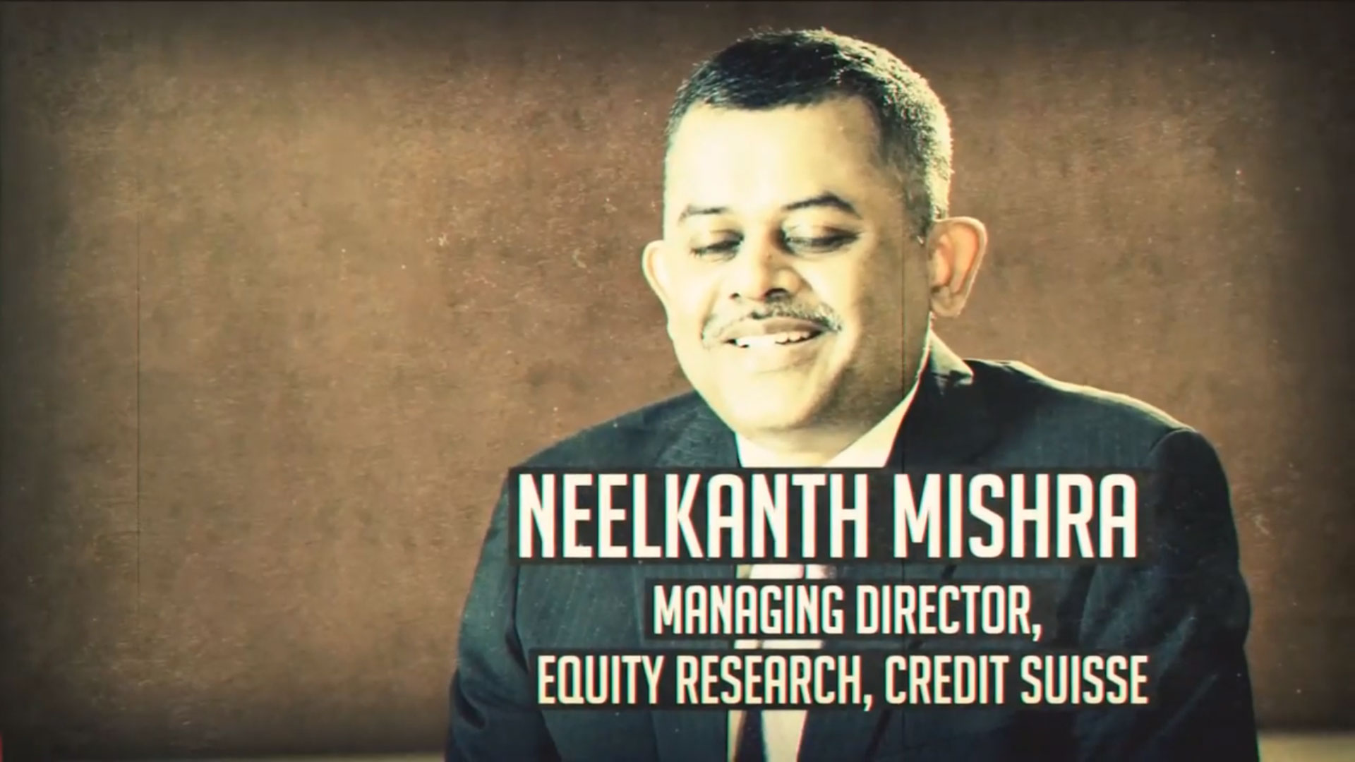 Neelkanth Mishra Managing Director
