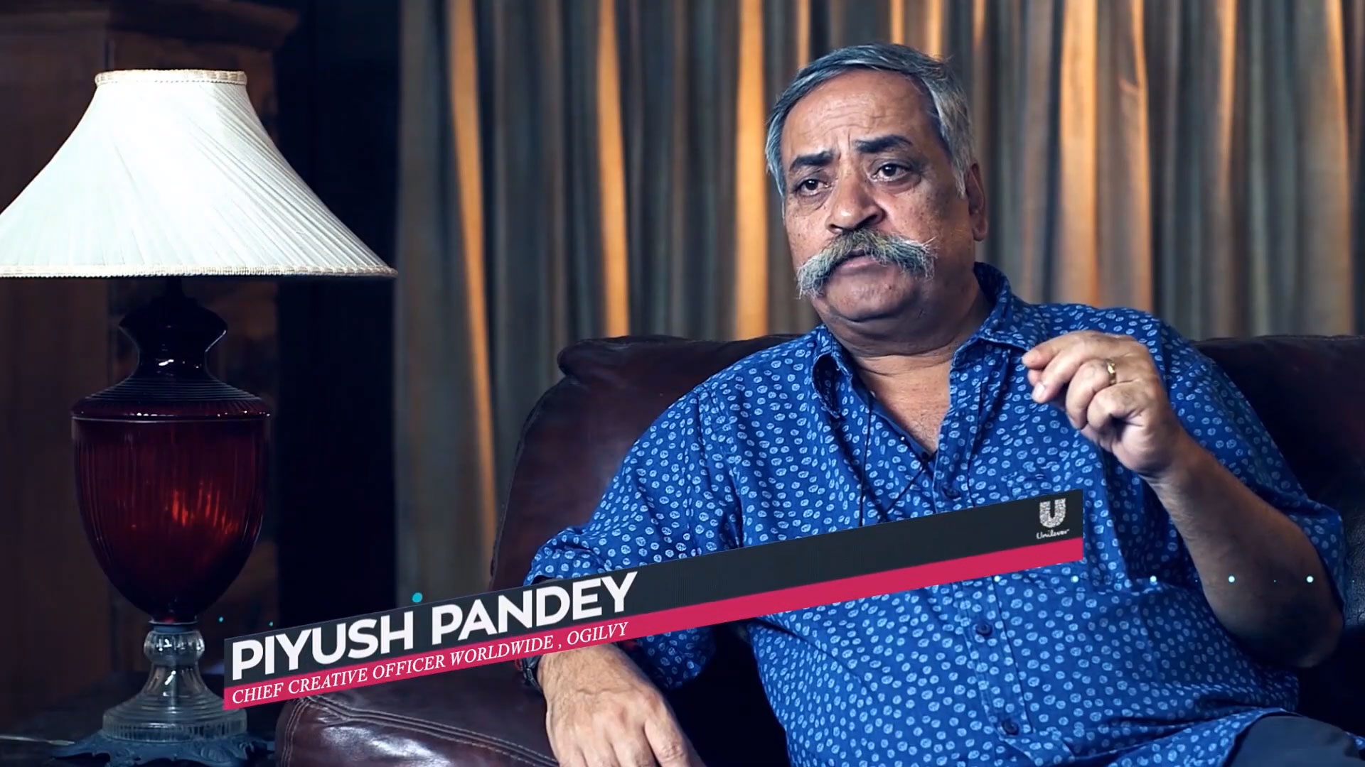Piyush Pandey Chief Creative Officer worldwide, Ogilvy