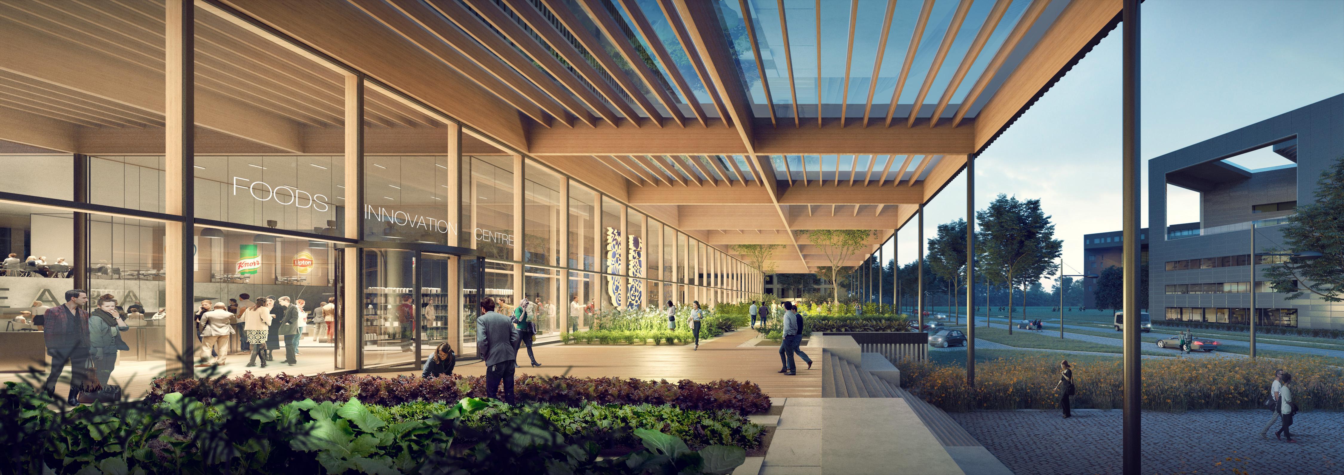 Unilever building exterior