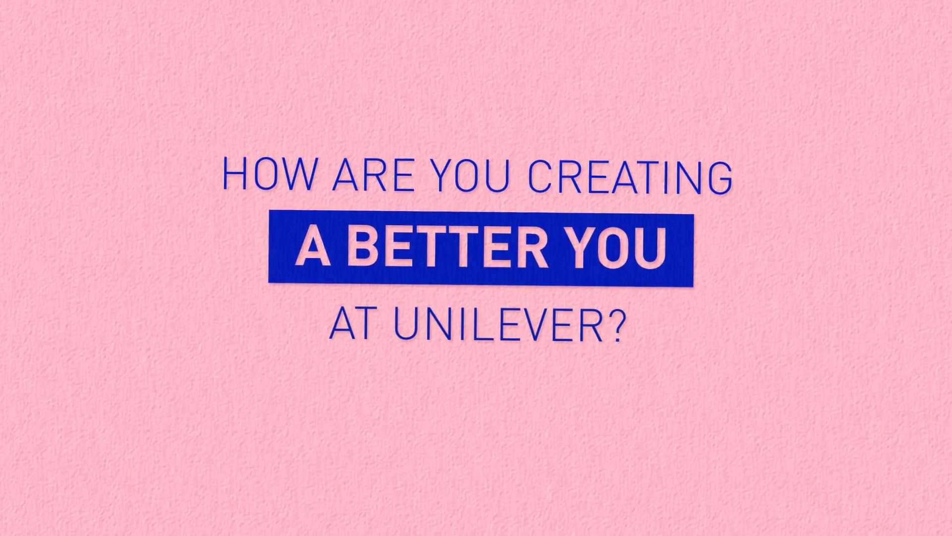 how are you creating a better you