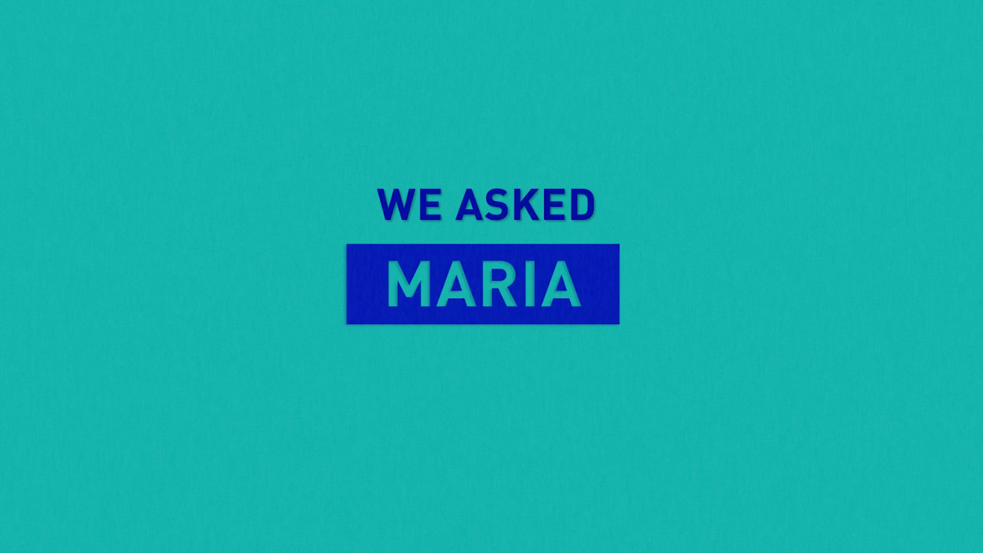 we asked maria splash image
