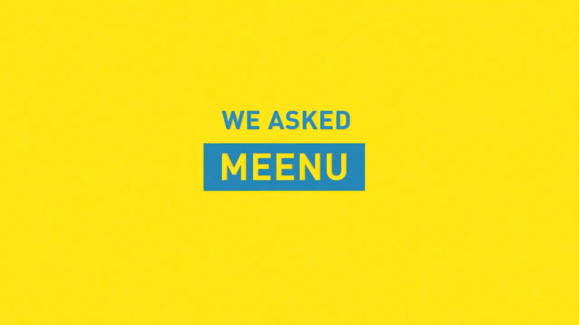 we asked meenu splash image