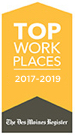 Top Places to Work - The Des Moines Register