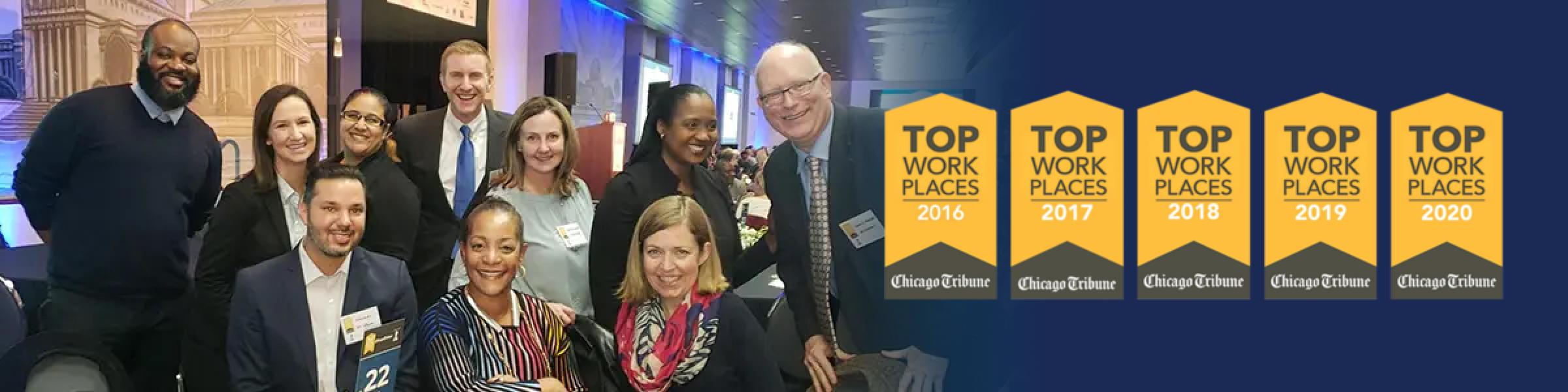 Top Work Places - Chicago Tribune