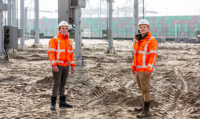 volker energy solutions project collega's