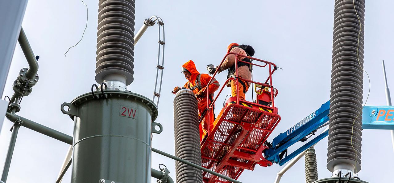 volker energy solutions projecten hollandse kust zuid hoogspanning
