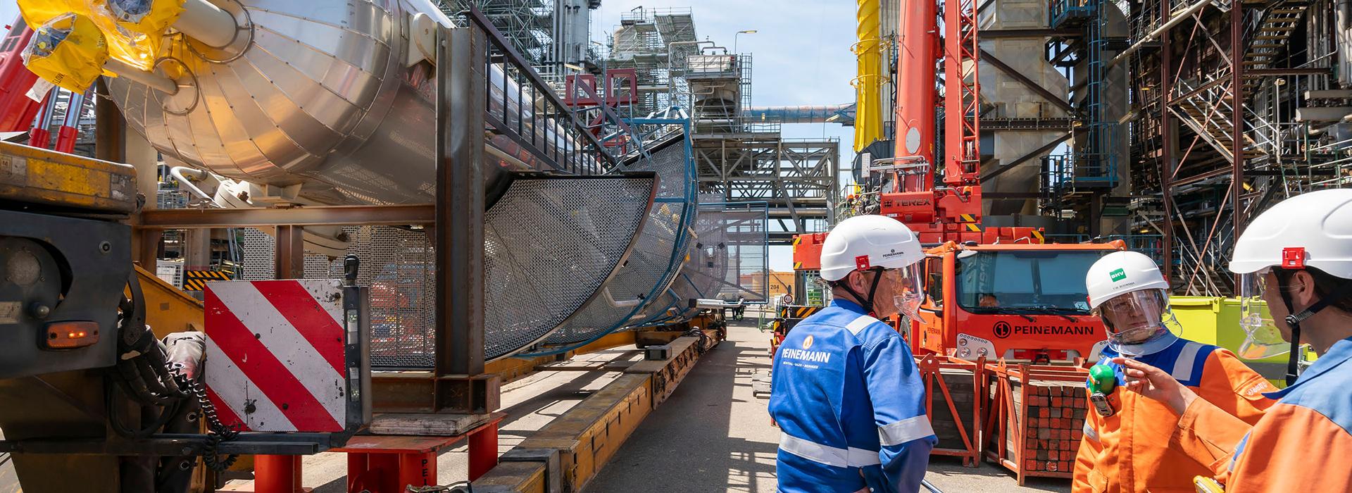 visser & smit hanab projecten zeeland refinery