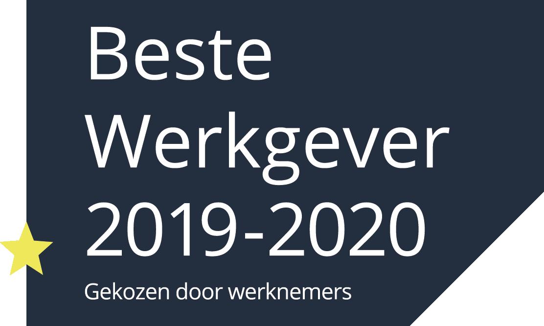 VolkerRail Beste Werkgever 2019-2020
