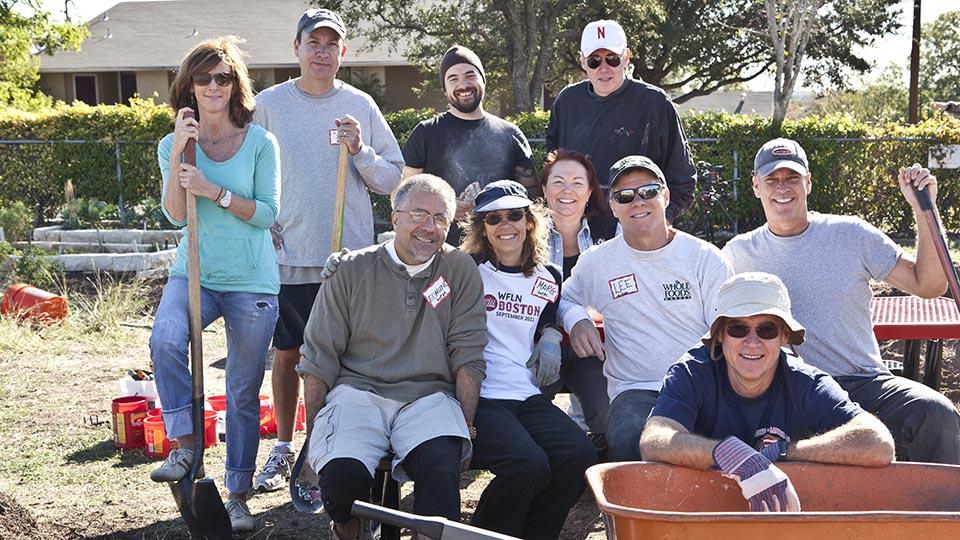 Whole Kids Foundation Team Members Volunteering
